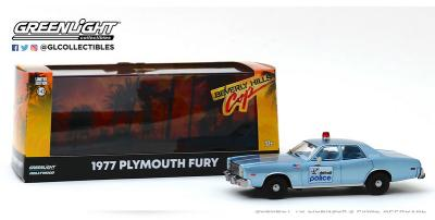 1977 PLYMOUTH FURY DETROIT POLICE - BEVERLY HILLS