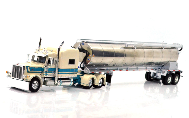 1//64 DCP WHITE//BLACK MISSISSIPPI ANHYDROUS AMMOINIA TANKER TRAILER
