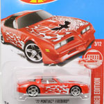 RED EDITION TARGET EXCLUSIVE '77 PONTIAC FIREBIRD
