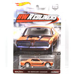 CAR CULTURE RED LINERS -  '68 MERCURY COUGAR